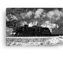 Pitchie Richie Railway Canvas Print