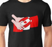 Canada Rugby Flag Unisex T-Shirt