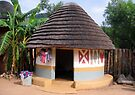One of the huts at Lesedi by Elizabeth Kendall