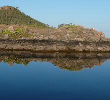 Lake Argyle Reflections 1 by Carollyn Rhodes-Thompson