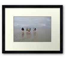 Go for a Walk Framed Print