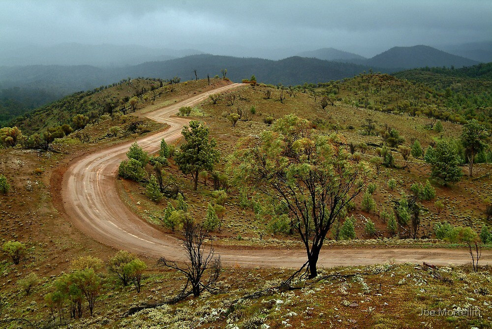 Razor Back Storm, Flinders Ranges by Joe Mortelliti