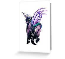 Queen Chrysalis. Greeting Card