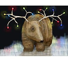 Glow me the Way : Christmas Lights Photographic Print