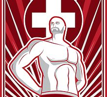Swiss Superpower - Cesaro by Patrick King
