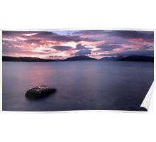 Argyll Sunset Poster