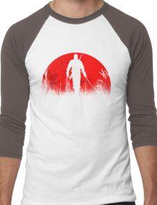 Red moon Men's Baseball ¾ T-Shirt