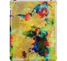 World Map watercolor 5 iPad Case/Skin
