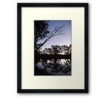 Winter at Cobaki creek Framed Print