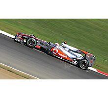 McLaren MP4-25, Jenson Button Photographic Print