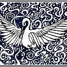 Swan dive by Lisa Stead
