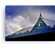 S.W.F.C (north stand) Canvas Print