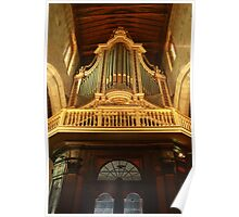 Guimarães . Pipe Organ. (church) Poster