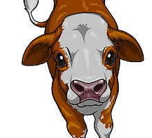 Calf Series - Simmental by inkybeast