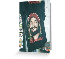 Specter of Che Guevara. Greeting Card