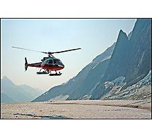 Glacier Landing Photographic Print