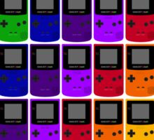 Gameboy Colors Sticker