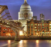 St Pauls, London by John Murray
