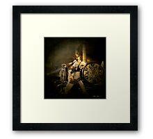 I, Sparta Framed Print