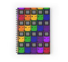 Gameboy Colors Spiral Notebook