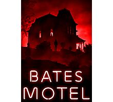 Bates Motel Photographic Print