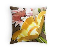 Accented Edges Throw Pillow