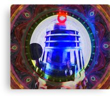 Dalek Vortex Canvas Print