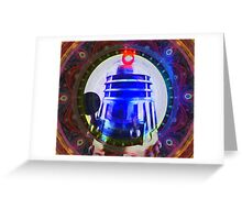 Dalek Vortex Greeting Card