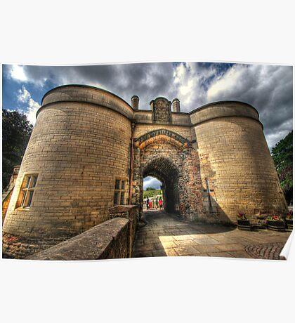 Nottingham Castle Poster
