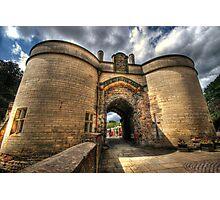 Nottingham Castle Photographic Print