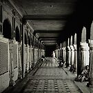Corridors of the gate by Bimal Tailor