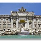 Greetings from the Med / The Trevi Fountain by John44