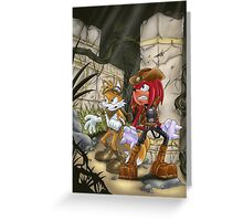 knuckles & Tails Greeting Card