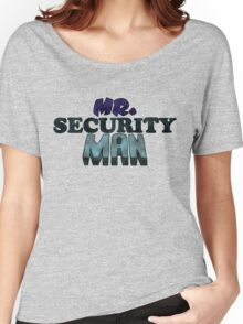 Mr. Security Man Women's Relaxed Fit T-Shirt