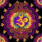 Divine Chakras Shine by luckyzencat