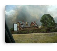 bendigo fires Canvas Print