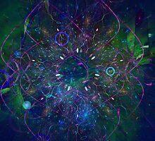 Life in technicoloured fuzzy logic by Britta Döll