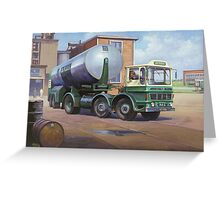 AEC Mammoth Minor artic. Greeting Card