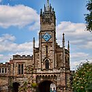 St Peter's Chapel and East Gate Warwick by Ray Clarke