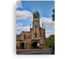 St Peter's Chapel and East Gate Warwick Canvas Print