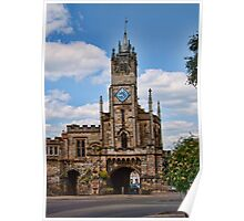 St Peter's Chapel and East Gate Warwick Poster
