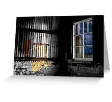 Moon Shine - Cockatoo Island - Sydney - Australia Greeting Card