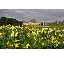 Spring at Castle Howard Photographic Print