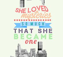 SHE LOVED MYSTERIES SO MUCH | PAPER TOWNS by winterspells