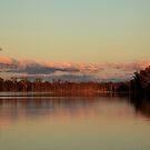 Lake Broadwater Sunset by Noel Elliot