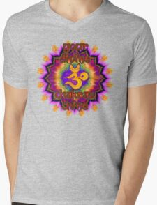 Divine Chakras Shine Mens V-Neck T-Shirt