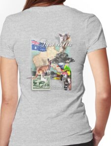 down under Womens Fitted T-Shirt