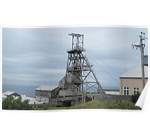 Old Geevor Tin mine (Cornwall) Poster