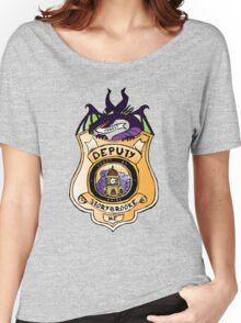 Once Upon A Deputy Women's Relaxed Fit T-Shirt