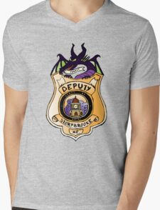 Once Upon A Deputy Mens V-Neck T-Shirt